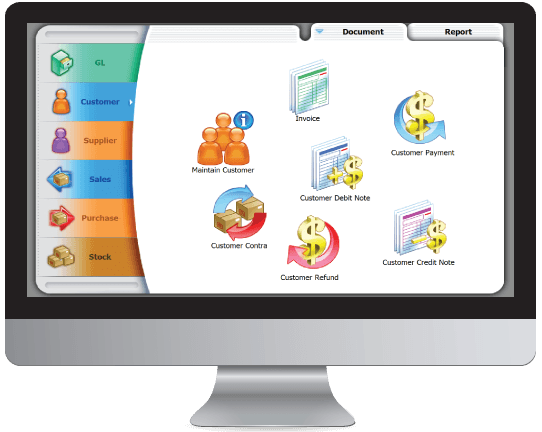 SQL Account Screen - Number 1 Accounting Software